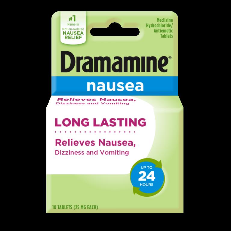 Dramamine Long Lasting