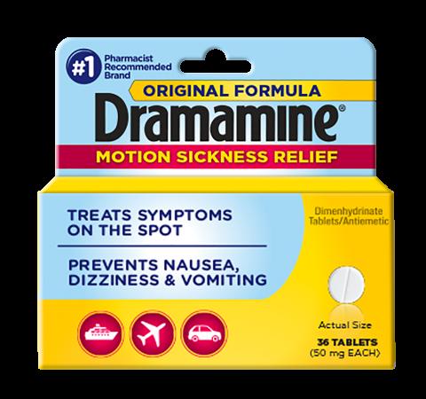 Dramamine® Motion Sickness Medicine | Nausea Relief & Prevention